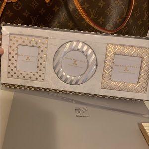 Mackenzie Child mini gold silver frames set new